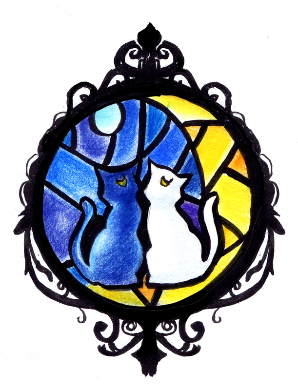 Luna Artemis tattoo design