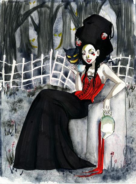 La course au fanzinat le retour fallengodess - Dessins de vampires ...